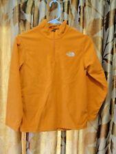 The North Face Boys 1/4 Zip Fleece Pullover MEDIUM Orange