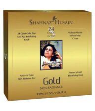 Shahnaz Husain Gold Facial Kit 40g + Gold Bleach Cream Bio Aroma 43g