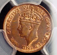 1941, Canada, Newfoundland Province), George VI. Bronze 1 Cent Coin. PCGS MS-63!