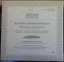 KARL RICHTER bach herz und mund und tat und leben LP Mint- Archiv Stereo German