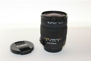 Sigma DC 18-50mm f/2.8-4.5 HSM Aspherical DC OS AF Lens For Canon