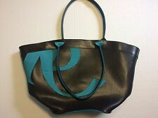 RIPANI ITALY Black Leather Tote Bag