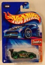 Hot Wheels 2004 First Editions Tooned Toyota MR2 Green w/PR5 Wheels Quantity