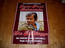 Kino Plakat   die bulldogge    BELMONDO+LAURA ANTONELLI