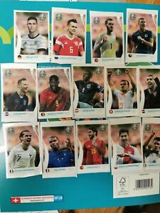PANINI EURO 2020 Preview Swiss (Limited Edition) Coca Cola Stickers