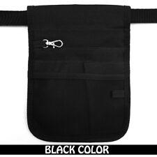 Nurse Vet  Physio Teacher Medical Professions Waist Belt Pouch Bag - Black