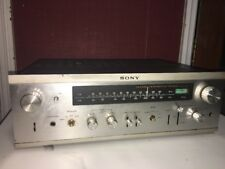SONY STR 6055 Stereo Receiver Solid State 40 watt/channel Amplifier  AS IS