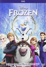 Frozen ( DVD NEW, 2014 ) Animated, Kids, Family, Adventure SHIPPING NOW !!!