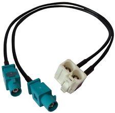 Connecteur adaptateur fiche prise antenne FAKRA MFD2 RCD300 RNS-510 RNS2 pour VW