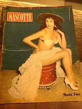 MASCOTTE N°14 1954 MARIA FRAU LOREN LOLLO PAMPANINI MASSERONI REMY RALLI RUBINI