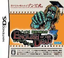 Used DS Zombie Shiki - Eigo Ryoku Sosei Jutsu: English of the Dead Japan Import