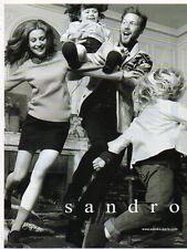 Publicité Advertising 2011  SANDRO pret à porter collection mode