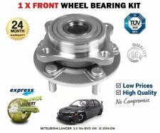 FOR MITSUBISHI LANCER SALOON 2.0 16v EVO VIII IX 2004-ON FRONT WHEEL BEARING HUB