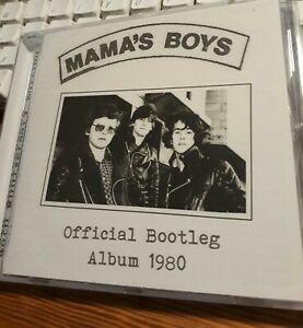 MAMA'S BOYS Official Bootleg Album 1980 CD Ltd 500 rarities NWOBHM Hard Rock