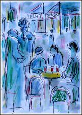 MONTPARNASSE,LE DÔME modern art oil painting