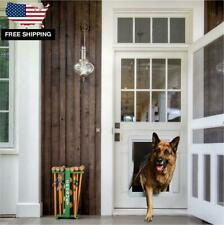 Yard Patio Door With Frame for Dog Pet Enter Exit Large Dogs