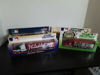 Philadelphia Phillies Baseball Tractor Trailer Lot - 1999, 2000, 2001, 2002