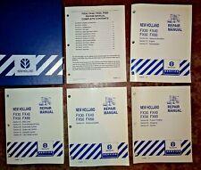 New Holland FX30 FX40 FX50 FX60 Forage Harvester Service Repair Manual Original!