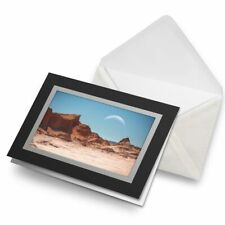 Greetings Card (Black) - Moon Valley Atacama Desert Chile Birthday Gift #16662