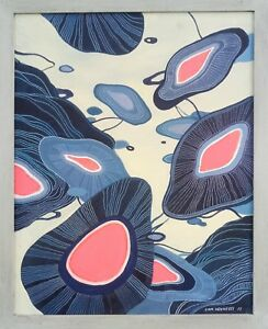 abstract contemporary modern original surreal painting