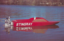 Stingray Day Cruiser Model Boat Ship Plans, Templates and Instructions