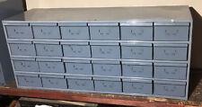 """Dayton Industrial 24-Drawer Metal Cabinet Chest Parts Storage 34""""x 12"""" x 14.25"""""""