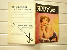 GIDDY 3'6 PHOTOS NOIR POUR ADULTES