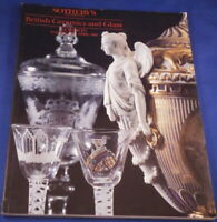 Sotheby Catalog British Ceramics and Glass London 1992 Reference Book Porcelain