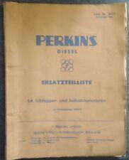 Perkins Motoren ET-Liste L4 Schlepper- und Industriemotoren