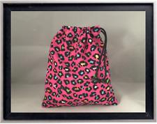Gymnastics Leotard Grip Bags /Colorful Pink Cheetah Gymnasts Birthday Goody Bag