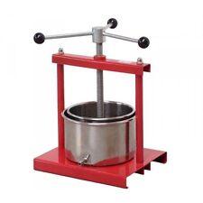 FRUIT PRESS 3.5L - Wine Press, Home Brew, Apple Press, Fruit Crusher, Juicer