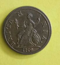 UK 1719 BROWSING  BRITISH CROWN COIN OF GEORGE I