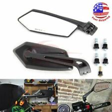2pcs Motorcycle Rear View Mirrors Universal Handlebar Side Rearview Mirror Moped