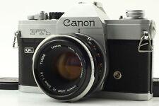 【EXC+5 w/ FL 50mm F/1.8 】 CANON FTb QL SLR film camera from JAPAN #1903
