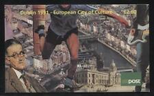 Ireland - 1991 - HB36 - £2.60  Booklet - European City Culture