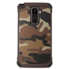 Fundas y carcasas de plástico de color principal marrón para teléfonos móviles y PDAs LG