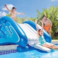 "Intex 131"" x 81"" x 46"" Kool Splash Inflatable Pool Water Slide w/ Sprayer"