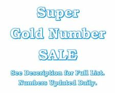 Super Platinum Vip 786 007 000 999 777 888 Gold Easy Mobile Number Sim Card SALE