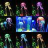 Cute Glowing Effect Aquarium FLOATING JELLYFISH Jelly Fish Tank Ornament JR15