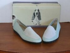 Hush Puppies Holly Meadow Mist/Cream loafers Shoes Size 7 1/2