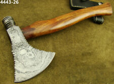 """14.4"""" ALISTAR BEAUTIFUL HAND FORGED DAMASCUS STEEL HATCHET CAMPING AXE (4443-26"""