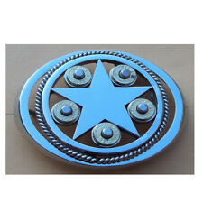 stainless steel belt buckle with 357 shells