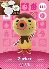 Zucker NFC Tag/Coin Amiibo Card Animal Crossing New Horizons! Free Shipping!