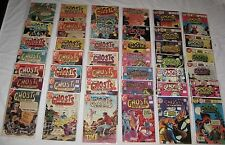 Bronze Age Horror Lot/41 The MANY GHOSTS OF DR. GRAVES bet #s 1 & 72  avg VG/FN