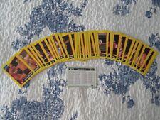1991 IMPEL WCW WRESTLING TRADING CARDS. #51 THRU #94 w/ CHECKLIST. MINT. (4321)