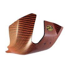 P3 Orange Carbon Fiber Skid Plate for KTM 2017 17 250 300 SX XC XCW 301066-ORG