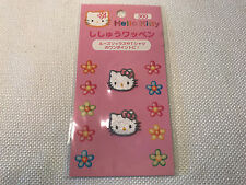 Rare Hello Kitty Sanrio Vintage Pink Bow Mini Iron-On Patch Set 1997 New In Pack