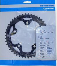 Shimano FC-R460 2x10 speed Chainring 46T-F fits 46-34 Crankset BCD 110mm Black