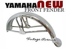 YAMAHA YG1 YB80 YB90 YB100 YB125 YG5 YL1 YL2 YL3 FRONT FENDER W/ MUD FLAP [ID]