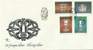 1985 South Africa FDC cover Old Cape Silver